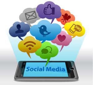 condividere su social media profiles