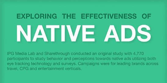 [Infografica] Native advertising: è efficace?