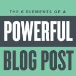 6 elementi che non puoi sottovalutare in un post