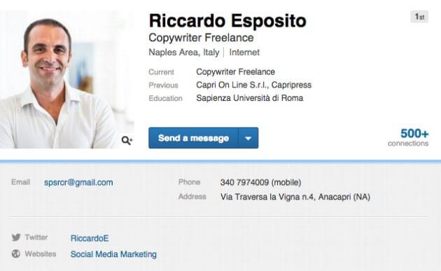 sfruttare LinkedIn per la tua attività di content marketing
