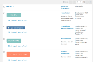Wordpress Button Plugin