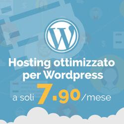 Servizio Hosting WordPress