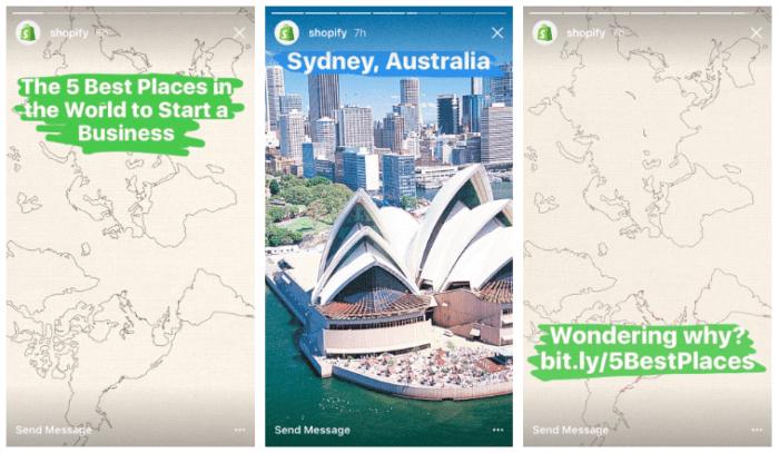 Instagram Stories: immagini e articoli