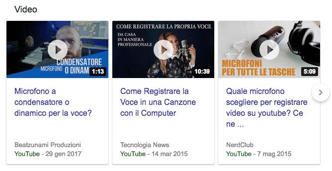 video content marketing su YouTube