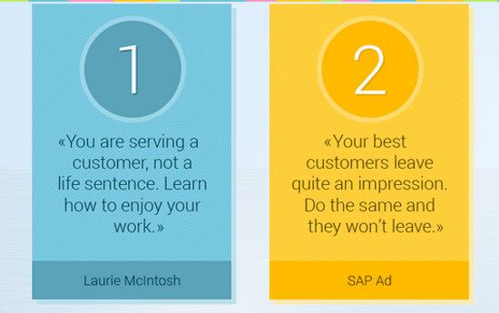 7 citazioni per migliorare il tuo customer service