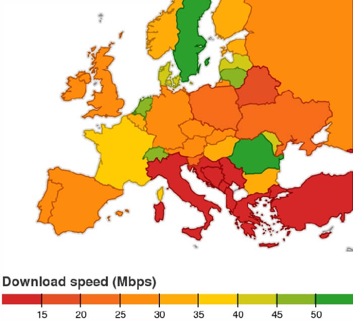 Digital divide in Italia: il sud supera il nord?
