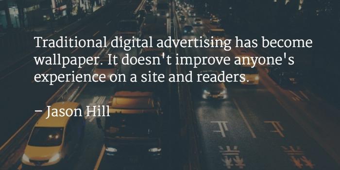 Native advertising e pubblicità
