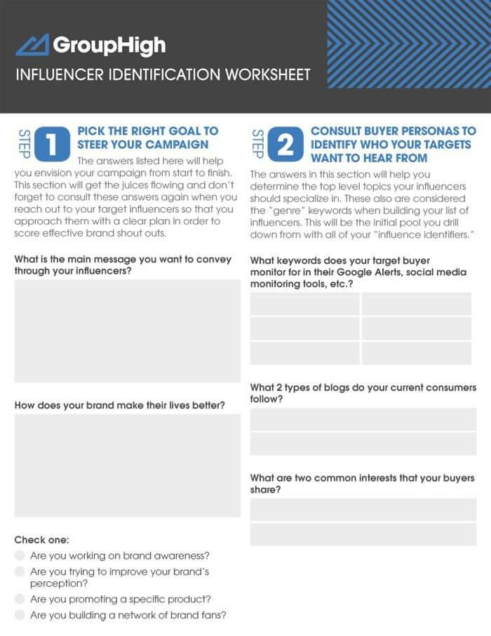 Un Blog Outreach Tool per identificare gli influencer