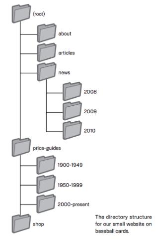 struttura sito