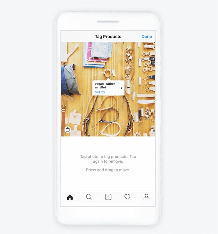 Vendere prodotti su Instagram