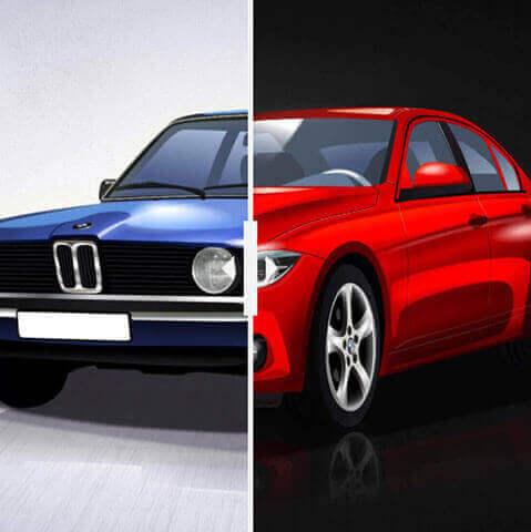 Com'era, com'è. Come sono cambiate le 10 auto che amate di più?