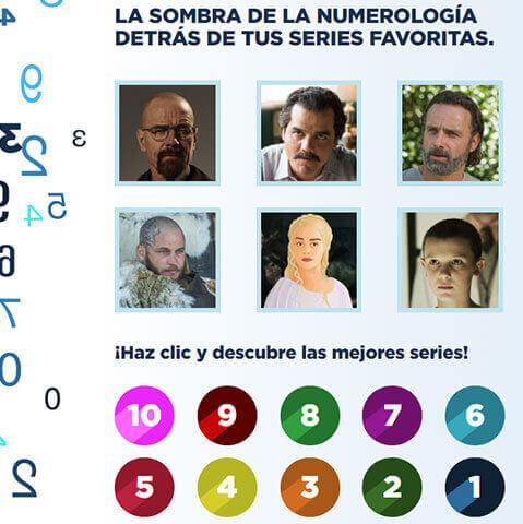 La sombra de la numerología detrás de tus personajes de tus series favoritas